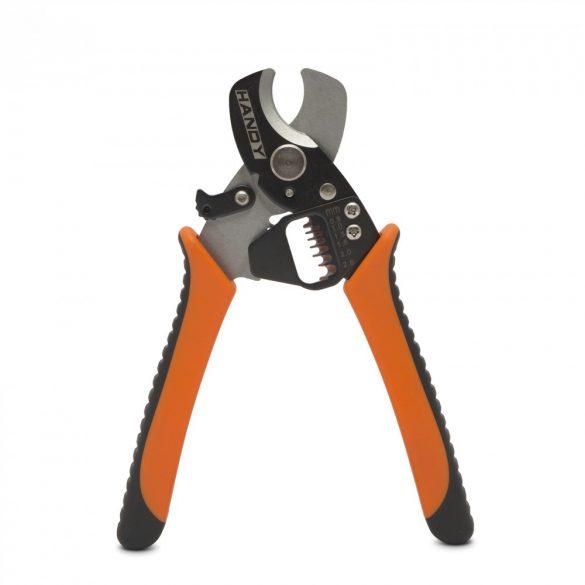 Kábelblankoló és -vágó fogó 0.8-2.6mm