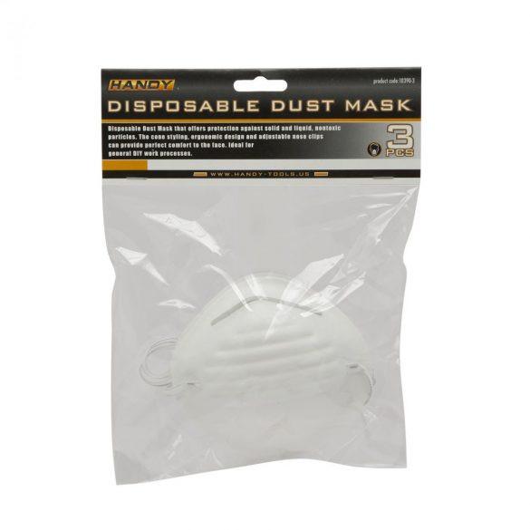 Porvédő maszk eldobható 3 db/csomag