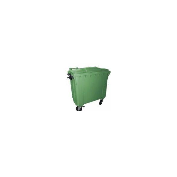 Hulladéktároló konténer 1100 L, ZÖLD