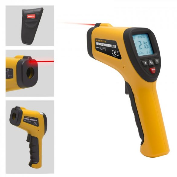 Digitális termométer -50°C-380°C