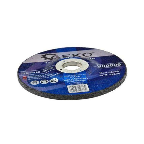 Tisztítókorong fémre 125x6x22,2mm
