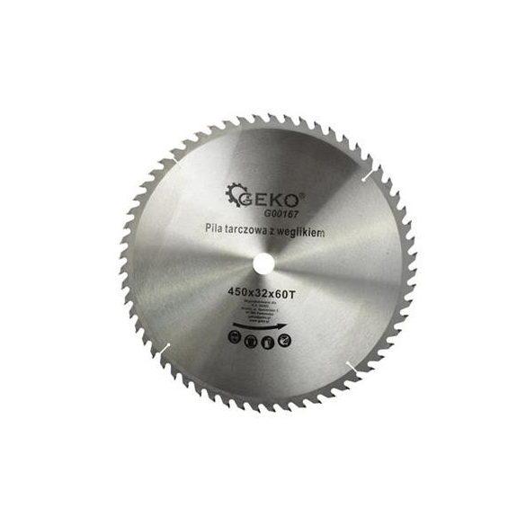 Körfűrésztárcsa Geko vídiás  450x32x60 fog