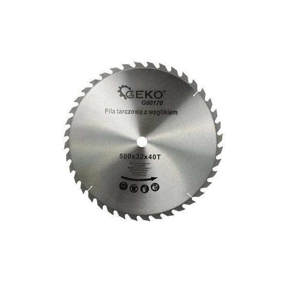 Körfűrésztárcsa Geko vídiás  500x32x40 fog