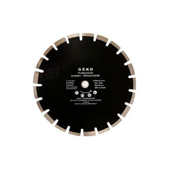 Gyémánt vágótárcsa Aszfalt 350x25,4mm