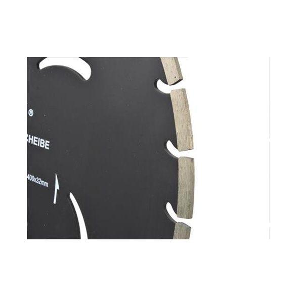 Gyémánt vágótárcsa fekete 400x10x32mm