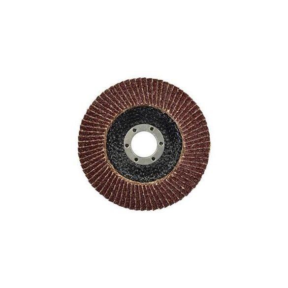 Lamellás csiszolótányér  (több méretben 115-125mm P36-P100)