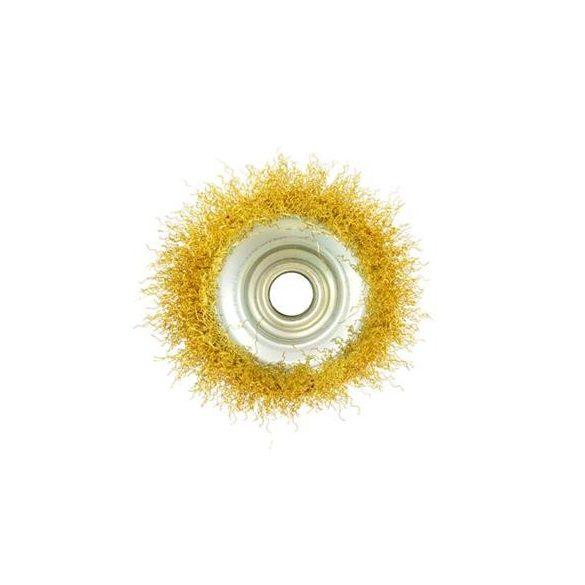 Fazékkefe sárgaréz  ( több méretben 75mm-125mm  M14 )