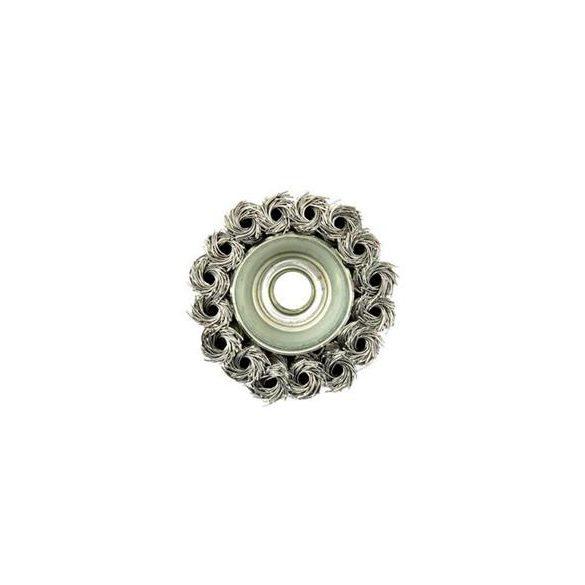 Fazékkefe csavart ( több méretben 65mm-125mm  M14 )