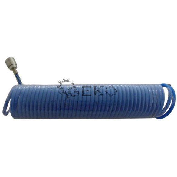 Spiráltömlő csatlakozókkal PE 8x5mm 10m