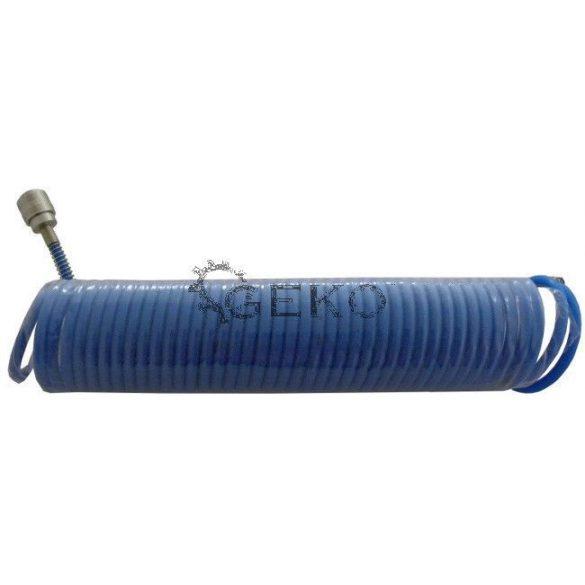 Spiráltömlő csatlakozókkal PE 8x5mm 15m