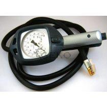 Professzionális kerékfúvató levegős pisztoly (órával) 0-12bar