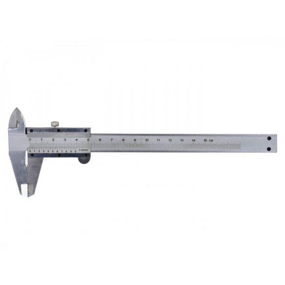 Tolómérő műanyag tartóban 150mm/0,05mm