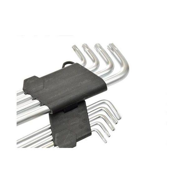 Torx fejű imbuszkulcs készlet T10-T50 / 9 részes 190mm