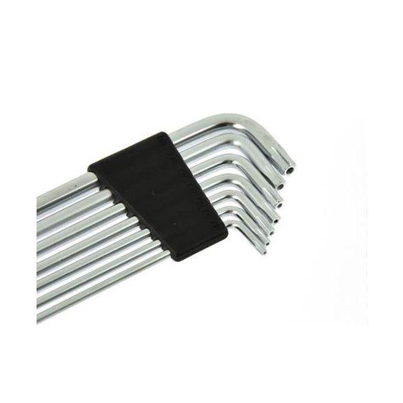 Torx fejű imbuszkulcs készlet T10-T40 7 részes 148mm