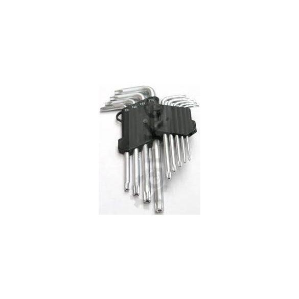 Torx fejű imbuszkulcs készlet T10-T55/ 260mm