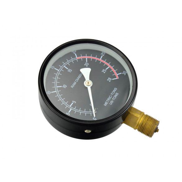 Manométer préshez (nyomásmérő óra) 20T