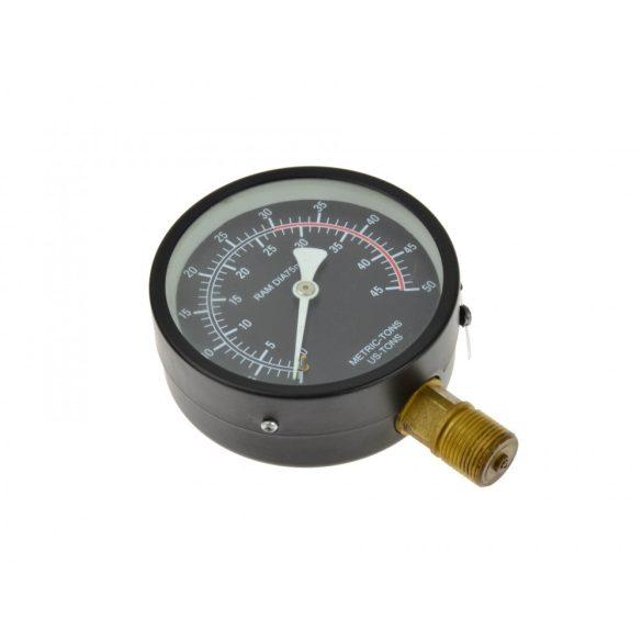Manométer préshez (nyomásmérő óra) 30T