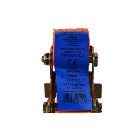 Rakományrögzítő spanifer 2m/2T/35mm