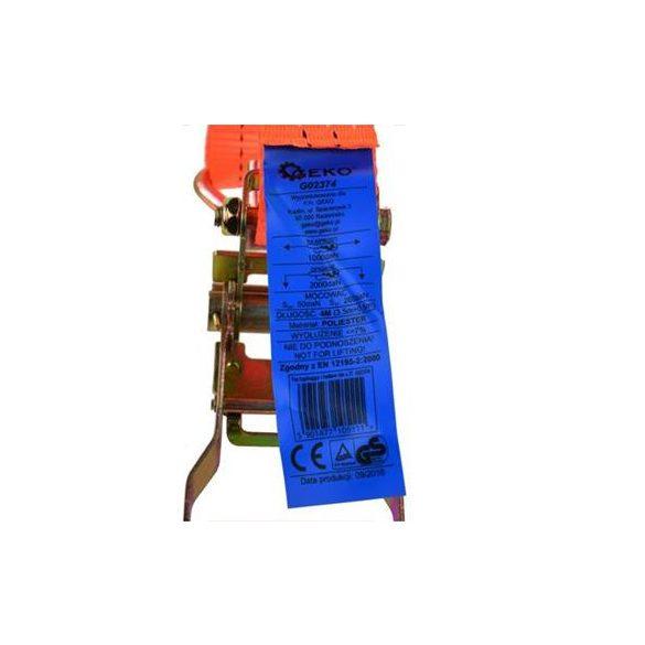 Rakományrögzítő spanifer 4m/2T/35mm