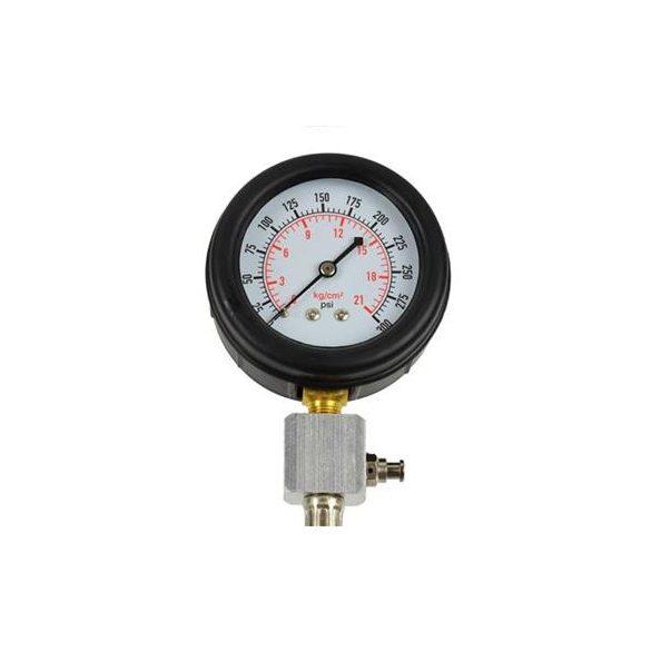 Kompresszió mérő készlet benzinmotorokhoz