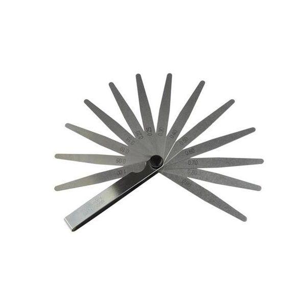 Hézagmérő 13 lapkás 0,02-1mm