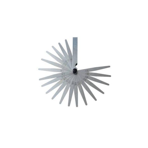 Hézagmérő 20 lapkás, 0,05-1mm
