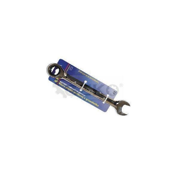 Racsnis csillag-villáskulcs 18mm, Geko