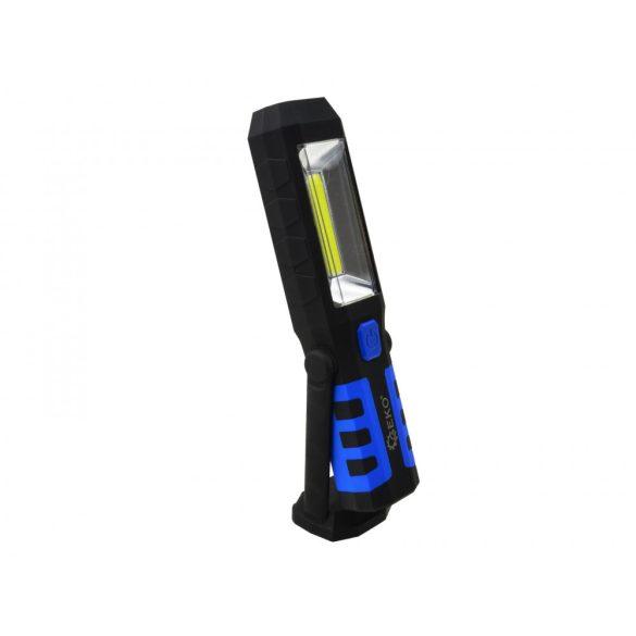 Mágneses szerelőlámpa CobLed 230/12V 3W-24 Li-on