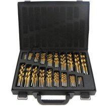 Fémfúró készlet HSS TIN 170 részes kínáló kofferben