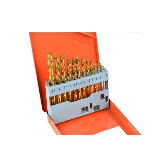 Fémfúró készlet TIN bevonatos 1,5-6,5mm/13r.