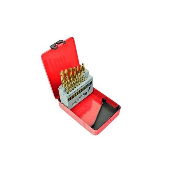 Fémfúró készlet TIN bevonatos 1-10mm/ 19r.