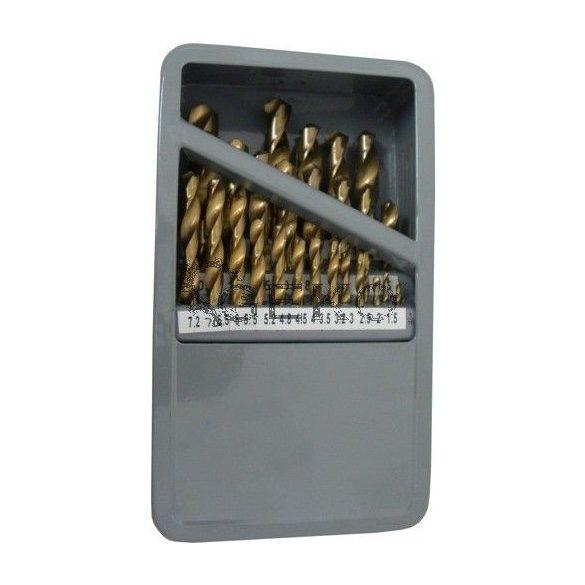 Fémfúró készlet TIN bevonatos 1-13mm/ 28r.