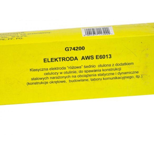 Hegesztő elektródák 2,5 mm x 300 mm rózsaszín 2,5kg