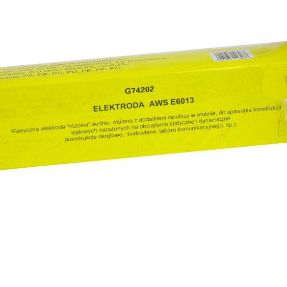 Hegesztő elektródák 4mm x 350mm rózsaszín  5 kg