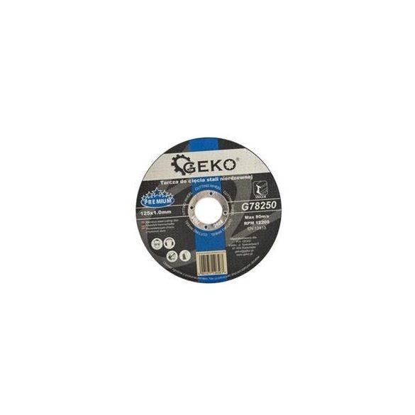 Vágókorong Inox 125x1.0x22,2mm