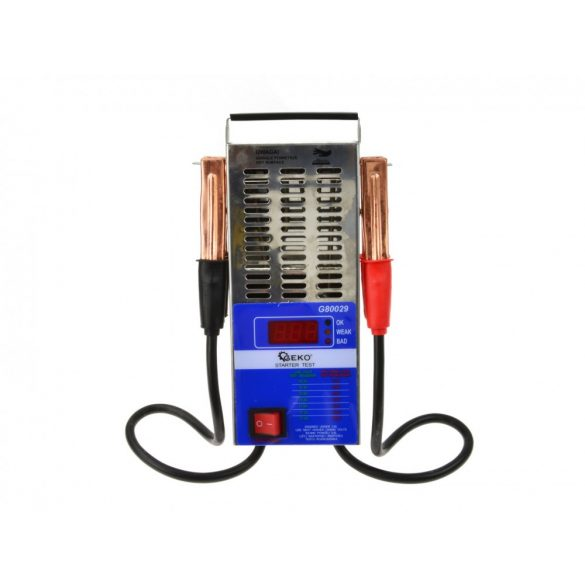 Akkumulátor teszter digitális
