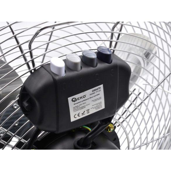 Padló ventilátor 50cm INOX/acél, 135W