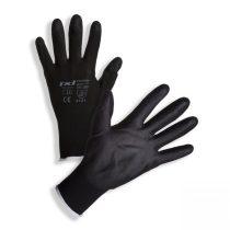 Szerelőkesztyű PU fekete (több méretben 6-11)