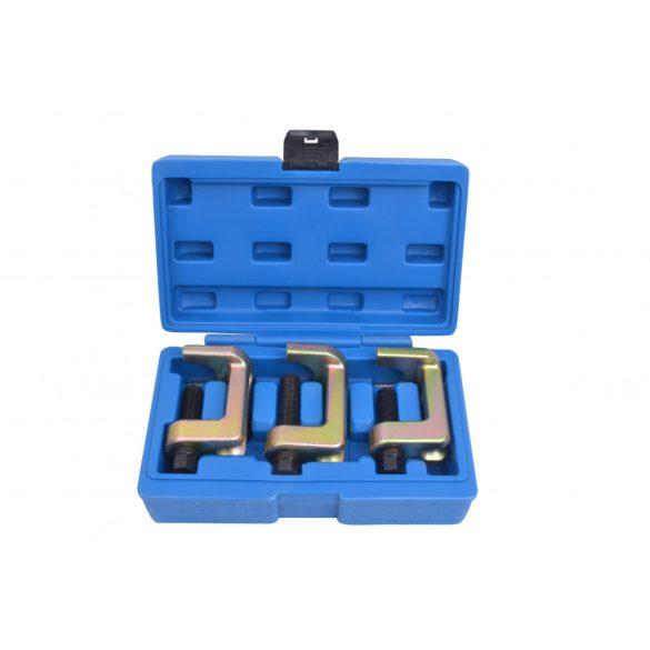 Gömbfej kinyomó (gömbcsukló prés) készlet 23 – 28 – 34mm 3 részes