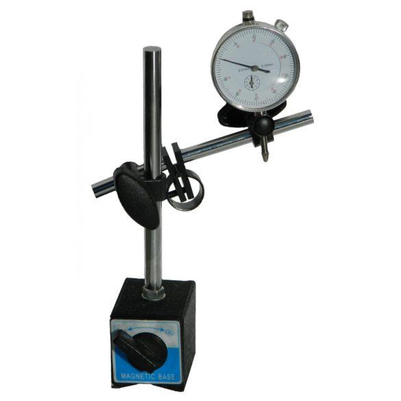 Indikátor óra mágneses állvánnyal