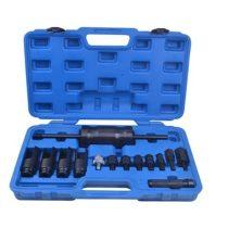 Injektor-porlasztó kihúzó készlet csúszókalapáccsal 14 részes