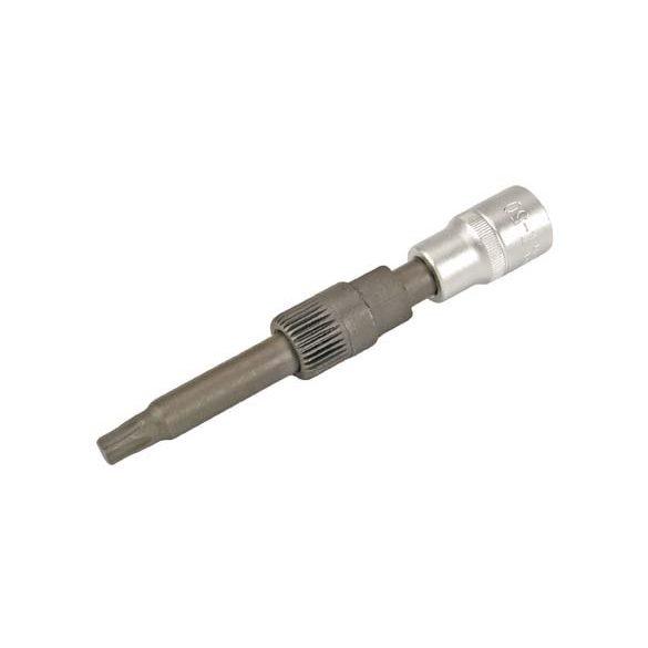 Generátor szerelő kulcs T50 L:110mm (szabadonfutó leszedő 1/2″) 33 szögű