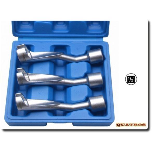 Üzemanyagcső bontó kulcs készlet 14, 17, 19mm BMW-Opel-Mercedes 1/2″