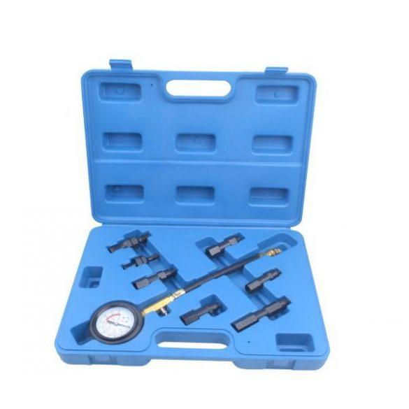 Benzines kompresszió mérő készlet 0-20bar