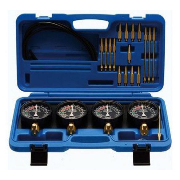 Karburátor szinkronizáló és vákuum / nyomás mérő 0-1bar