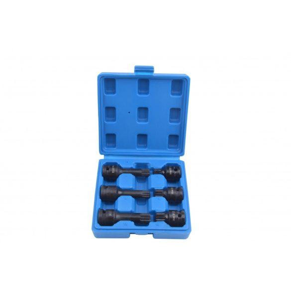 Gépi XZN dugókulcs készlet 1/2″, M14-M18