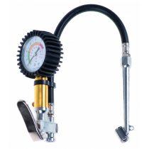 Kerékfújó (pumpálófej), nyomásjelző órával tehergépkocsihoz