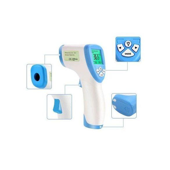 Digitális infra lázmérő, hőmérséklet mérő eszköz