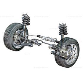 Futómű, kerékszerelés